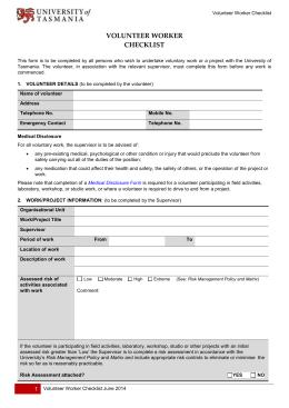 015402840_1-647faa71a89a4e06c3e00254adb729a0-260x520 Risk Essment Template Volunteers on