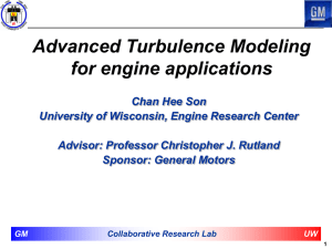 Chan-Hee Son Assessment of In Cylinder Turbulence Models