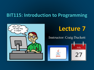 Lecture 12 PowerPoint