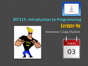 Lecture 13 PowerPoint