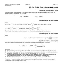 Notes - 9.2 (4e) - Panitz