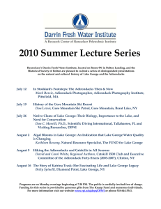 2010 Summer Lecture Series
