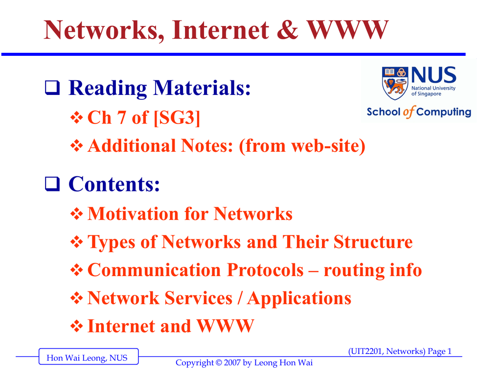 Network (ppt) [updated]