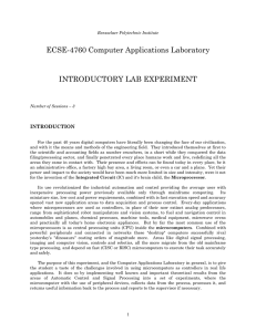 Introductory Lab