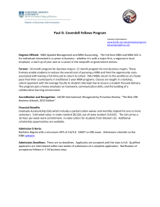 Paul D. Coverdell Fellows Program