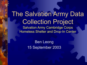 IDEAS presentation (15 September 2003)