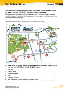 Stimmt 1 October 2014 Berlin Marathon (DOC, 2.04 MB)