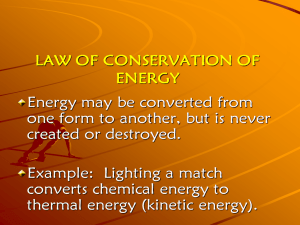 2. Matter and Energy