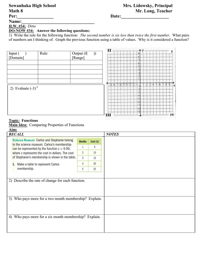 input output lesson plans 4th grade