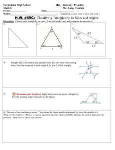 MATH 8 HW 69C ANGLES IN TRIANGLES.doc