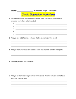Comic Worksheet