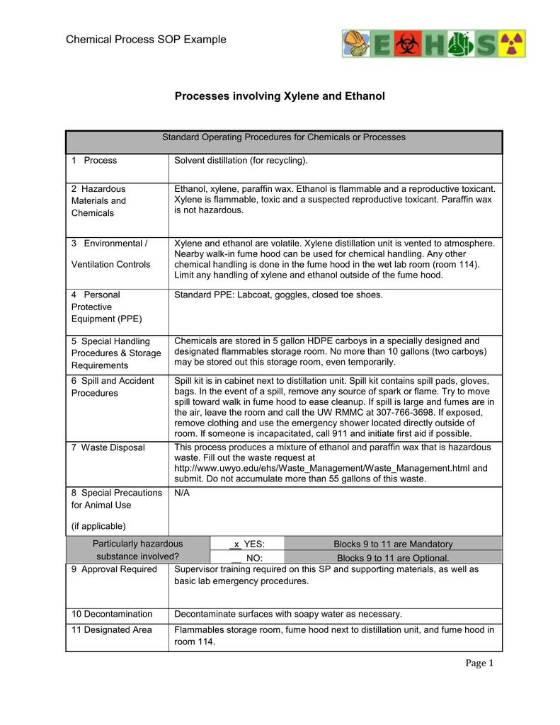 Xylene and Ethanol Processes