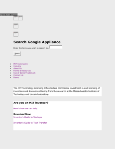 Search Google Appliance