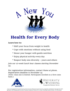 Health for Every Body