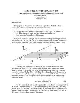 Semi-Conductors Activity