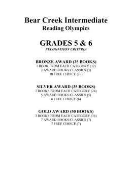 Tell Me About Reading Olympics!.doc