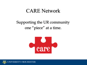 CARE Network Adviser Training