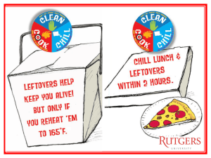 Leftovers: Know the 2 Cool Rule?