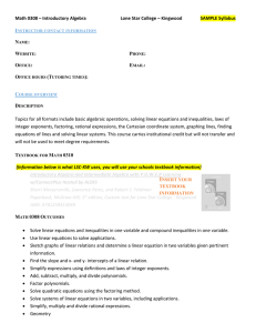 MATH 0308 Syllabus Template
