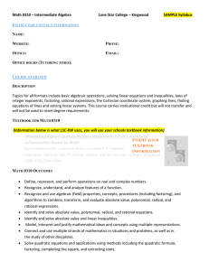 MATH 0310 Syllabus Template