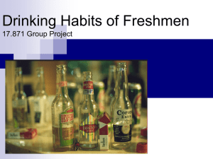 Example of past group assignment PowerPoint slides