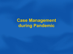 Case Management during Pandemic
