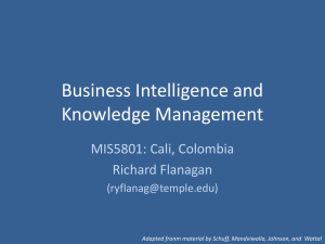 BI and Knowledge Management