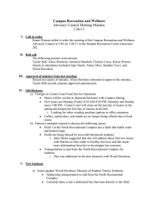 Meeting Minutes: January 26, 2011