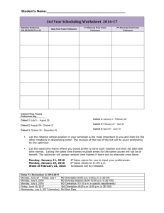 Scheduling Worksheet 2016-17