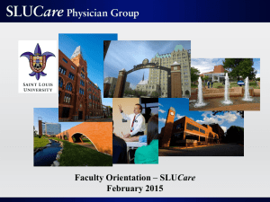 SLUCare Physician Group