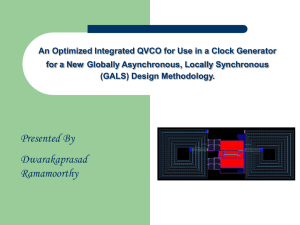 An Optimized Integrated QVCO for Use in a Clock Generator