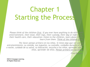 CH 1 Starting the Process.ppt