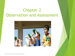 CH 2 Observation and Assessment.ppt