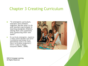 CH 3 Creating Curriculum.ppt