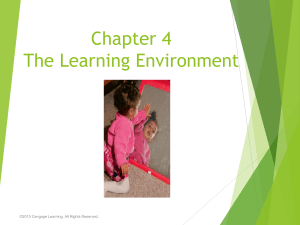 CH 4 The Learning Environment.ppt