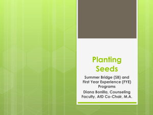 Planting Seeds-Ppt