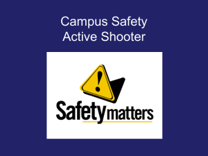 Campus Safety Active Shooter