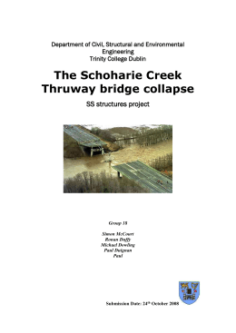 The Collapse of Schoharie Creek Bridge.doc
