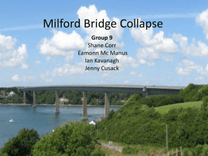 Milford Bridge Collapse Group 9 Shane Corr Eamonn Mc Manus