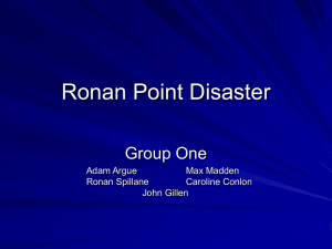 Group One - Ronan Point.ppt