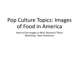culture thesis It has been argued that changes inwhat has been cooked, when, where and by whom are a function of other featureswithin the food economy and will have considerable social, economic and healthconsequences (lang&caraher, 20010) this essay will discuss the changein relation to culture, food and eating.