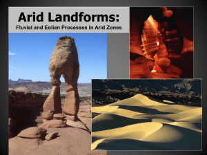 18. Arid Landforms: Fluvial and Eolian Processes in Arid Zones