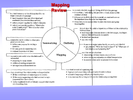 Mapping Review