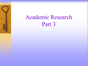 Research Class 3