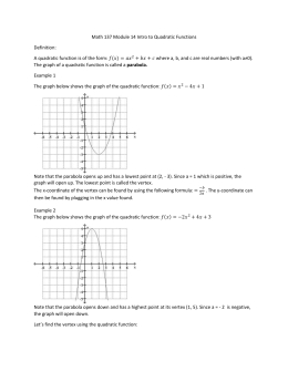 Module 14 Quadratic Functions Intro.docx