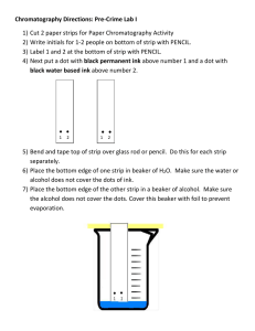 chromatography paper lab
