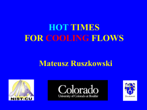 HOT TIMES FOR FLOWS