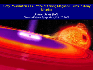 X-ray Polarization as a Probe of Strong Magnetic Fields in X-ray Binaries