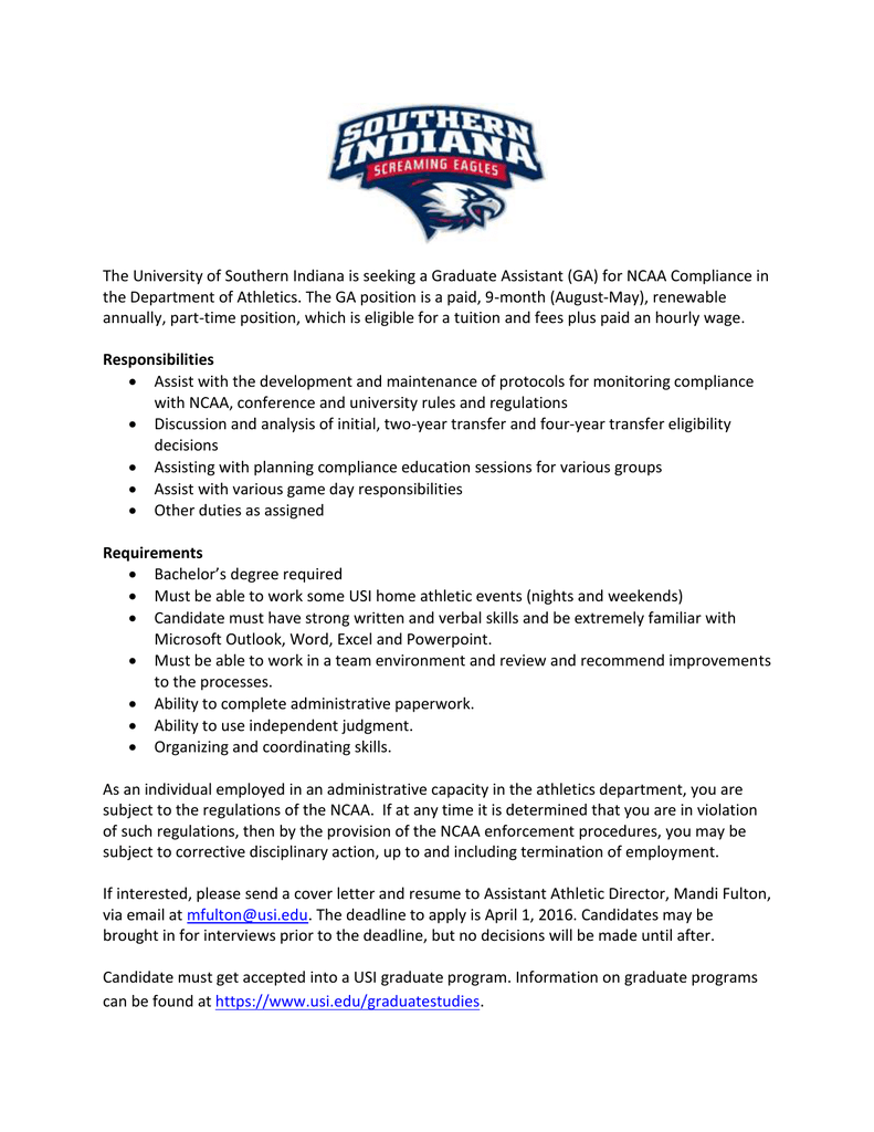 Cover Letter For Athletic Director from s2.studylib.net