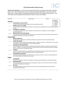 Download Scoring Rubric for 2009 Final Proposals (electronic)